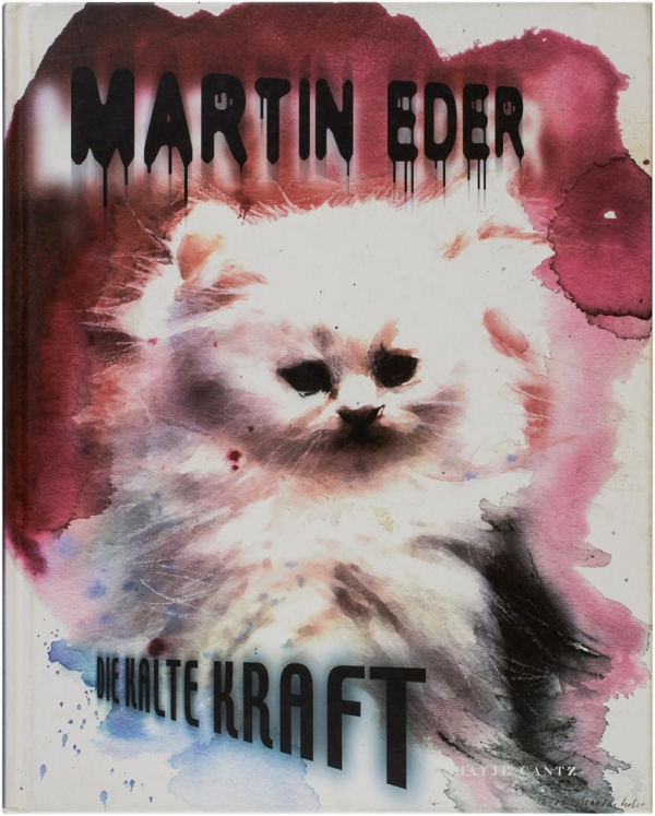 Die Kalte Kraft (Signed First Edition). Martin Eder