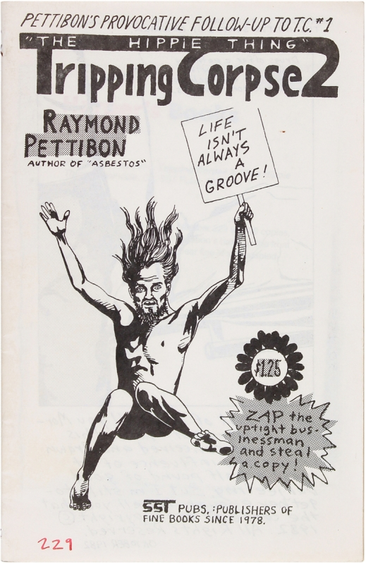 "Tripping Corpse 2. ""The Hippie Thing"" Raymond Pettibon"
