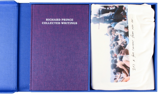 Richard Prince: Collected Writings (Deluxe Edition w/ T-Shirt).