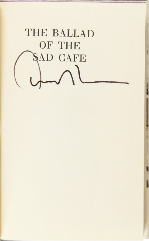 The Ballad of the Sad Cafe (Signed First Edition).